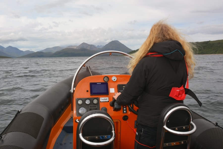 Private tuition and courses on our powerboat, SeaMotion
