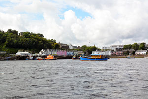 Portree Harbour from SeaMotion
