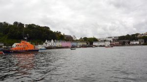 Portree from the Harbour, taken from SeaMotion
