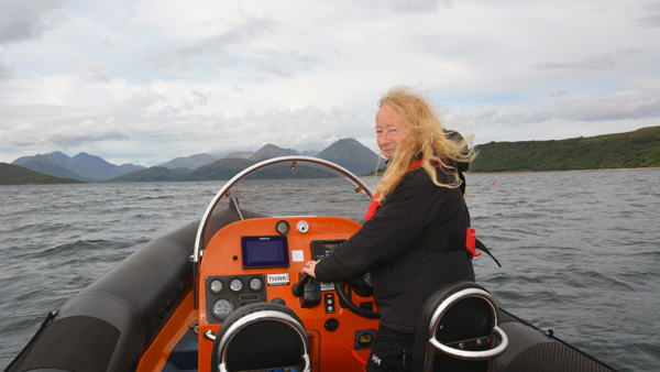 Caroline Langdon, Director of SeaMotion and Environmental Science Lecturer and Consultant